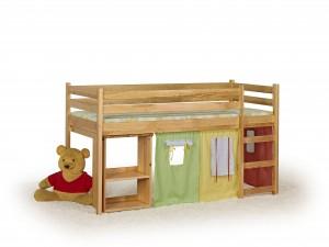 Łóżko dziecięce Emi z drewna sosnowego - 190 x 80 cm