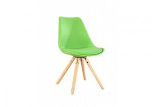 Krzesło bujane Chloe, z siedziskiem z plastiku, dł.61 x gł