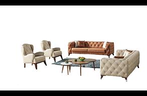 Zestawy foteli i kanap